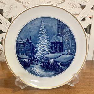 Antique Meissen Plate Weihnachts Markt Nach Ziegler for Sale in Forney, TX