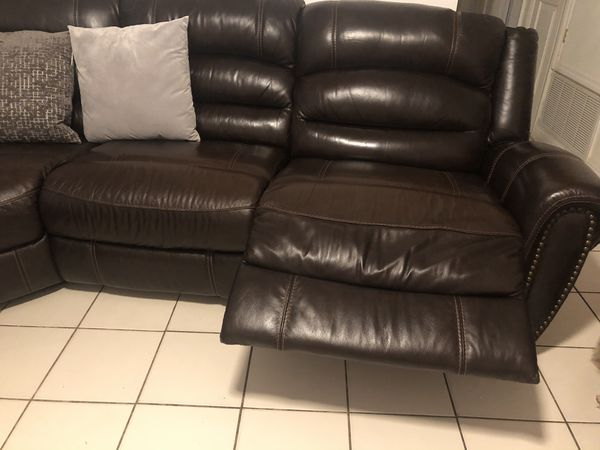 Electric 5 piece sectional recliner for sale