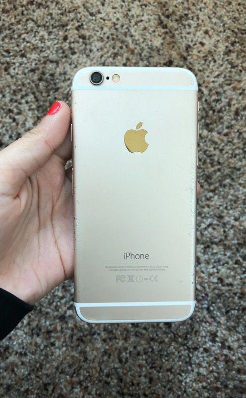 iPhone 6 screen crack unlocked