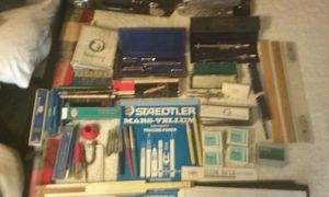 Vintage professional drafting and architectural tools and leads,inks and pencils for Sale in Show Low, AZ