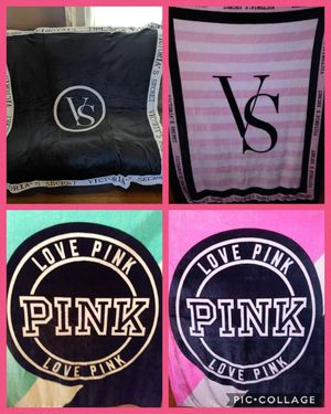 Vs PINK throw blankets for Sale in Myrtle Beach, SC