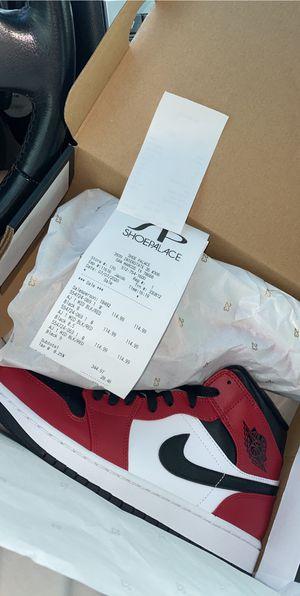Air Jordan 1 Chicago toe MID for Sale in Houston, TX