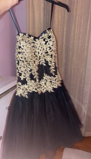 Prom mini black dress for Sale in MIDDLE CITY WEST, PA