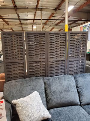 4 Panel Room Divider / Shoji Screen, Black for Sale in Santa Ana, CA