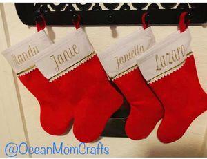 Personalized Christmas Santa stockings for Sale in Miami, FL