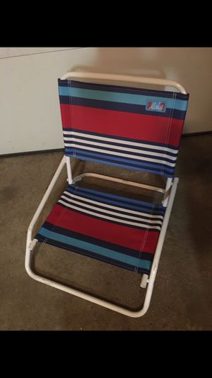 Low. Beach chair for Sale in Schaumburg, IL