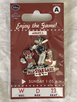 LA Angels Baseball MLB disney 2010 all star game pin for Sale in Tustin, CA