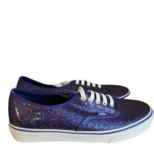 Vans Sparkly Purple Glitter Shoes Women's 10.5 for Sale in Owensboro, KY