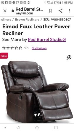 Recliner Chair New In Box for Sale in Orange,  CA