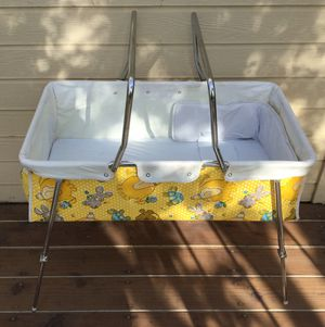 Vintage Strolee 70's Bassinet / Portable Crib ~ Check out my Page😊 for Sale in Fresno, CA