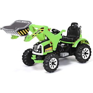 12V Battery Powered Kids Ride On Excavator, Electric Truck with High/Low Speed, Moving Forward/Backward, Front Loader Digger (Green) for Sale in Henderson, NV