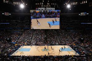 Club center court ROW 1!!! Nuggets vs blazers for Sale in Parker, CO