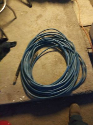 100 ft blue pressure washer hose for Sale in Wildomar, CA