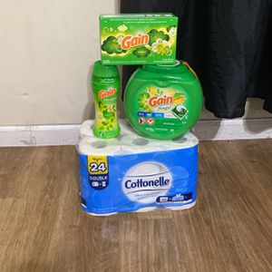 Gain & Cottonelle for Sale in Lawndale, CA