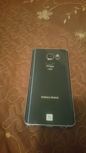 Samsung galaxy note 5 32gb verizon factory unlocked for any carrier in good condition 180 for Sale in Phoenix, AZ