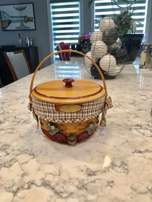Longaberger 2002 Woven Memories Basket Set for Sale in Strongsville, OH
