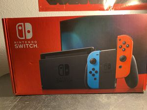 Nintendo Switch ( case , and Mario bro's game) for Sale in Oceanside, CA