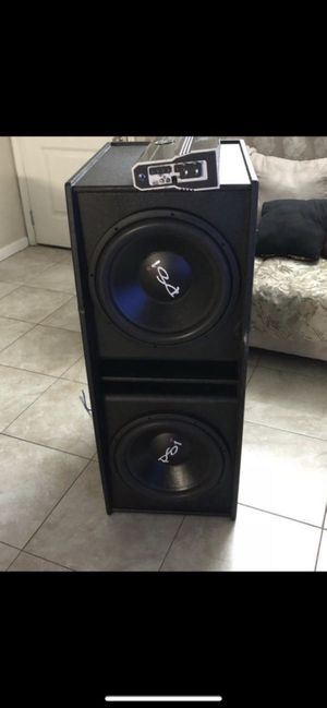 Psi car stereo sound system for Sale in El Cajon, CA