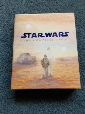 Star Wars complete set blu ray for Sale in Cleveland, OH