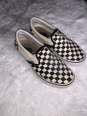Low Top Checkered Vans for Sale in Cleveland, OH