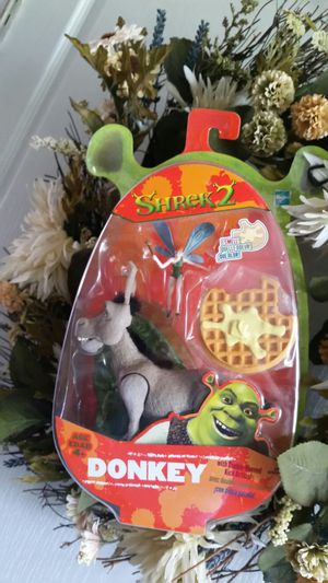 New Donkey Shrek collectable toy for Sale in Riverview, FL