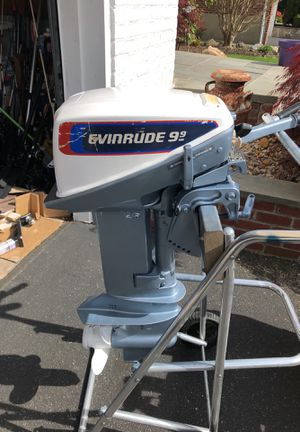 9.9 evinrude motor for Sale in Syosset, NY