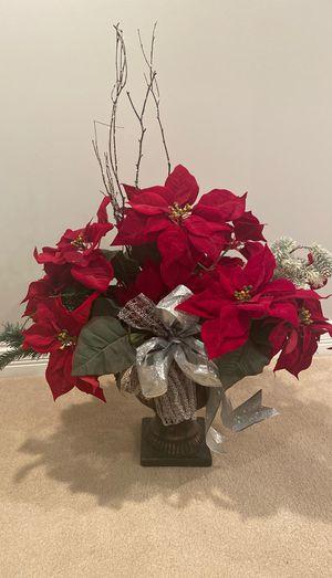 Large poinsettia flower arrangement for Sale in Palos Park, IL