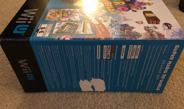 Nintendo Wii U Video Game System in Box with NintendoLand Game
