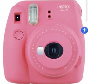 pink instax mini 9 for Sale in Dallas, TX