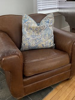 Restoration Hardware Leather Chair for Sale in Lowell,  MA