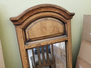 Solid wood mirror $25 for Sale in Riverside, CA
