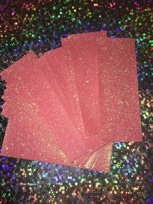 50)Pink GLITTER PAPER BACKGROUNDS for Sale in Savannah, GA