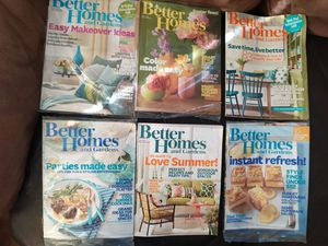 26 Magazines Better Homes & Gardens, Redbook, Family Circle, etc for Sale in South Attleboro, MA