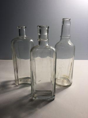 Antique Glass Liquor Bottles for Sale in Malden, MA