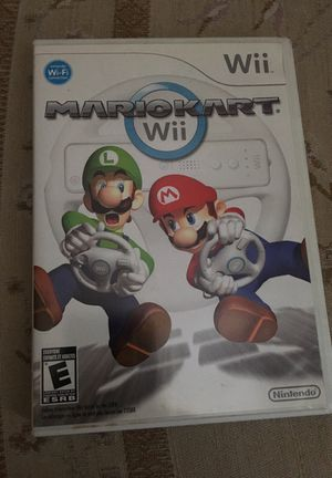 Mario Kart Wii case and manual only no game for Sale in Lakeland, FL