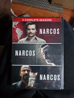 Narcos season one, two, and three for Sale in Prescott Valley, AZ