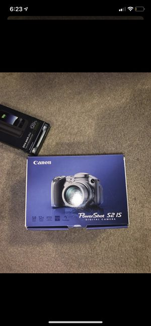 Canon PowerShot S2 IS Digital Camera - Never Used for Sale in Surprise, AZ