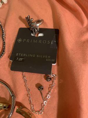 Sterling bracelet & ring + 30 more for Sale in Portland, OR