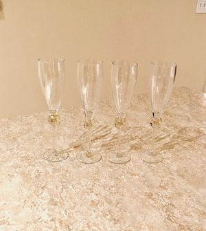 Set of Flute Glasses for Sale in Herndon, VA