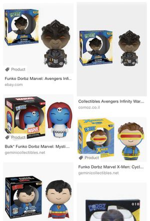Pop & Dorbz collection (30) for Sale in NO POTOMAC, MD