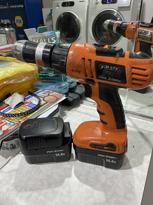 black and decker drill working for $15 for Sale in San Diego, CA