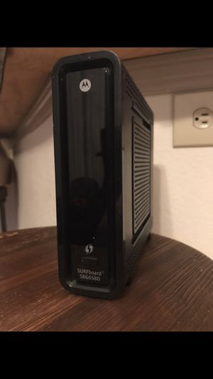 Motorola surfboard cable modem & router for Sale in Austin, TX