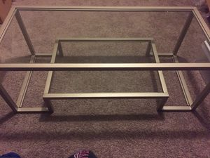 Brand new silver coffee table for Sale in Raleigh, NC