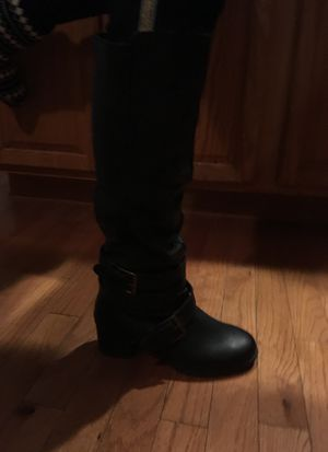 BRAND NEW Black boots for Sale in Smyrna, DE