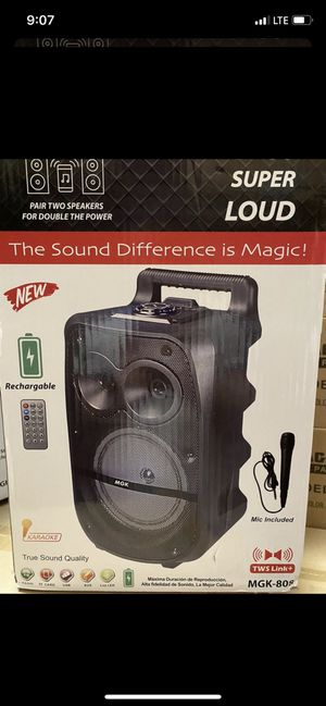 Magic Sound Max Party ( Brand New) for Sale in Tracy, CA