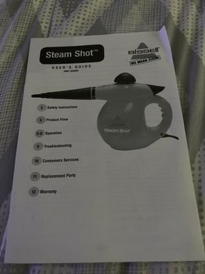Steam ShotHandheld Hard Surface Steam Cleaner BRAND NEW for Sale in Ontario, CA