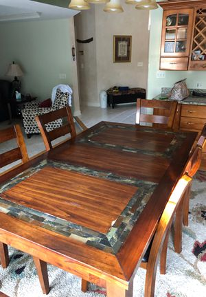 Breakfast Table with 5 chairs for Sale in Naperville, IL