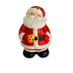 Ceramic Santa Claus Christmas Cookie Jar for Sale in Dacula, GA