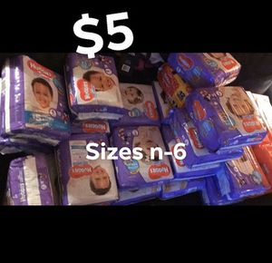 Diapers size 4 only!!!! $5 each for Sale in Camden, NJ