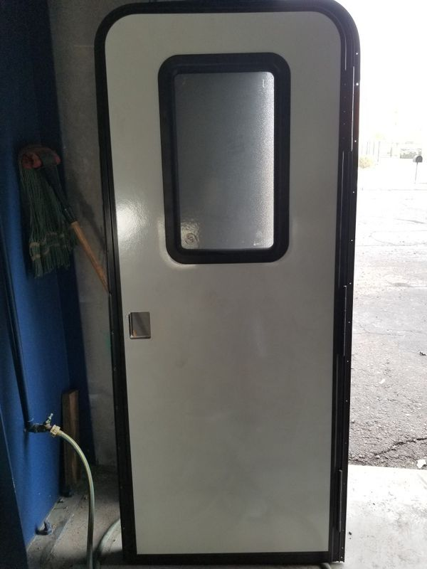 RV door by lippert with screen door for Sale in Mesa, AZ - OfferUp